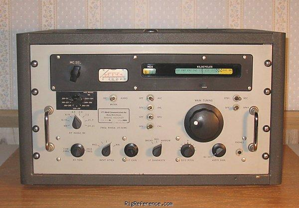 Itt Mackay Marine 3010b  Desktop Shortwave Receiver